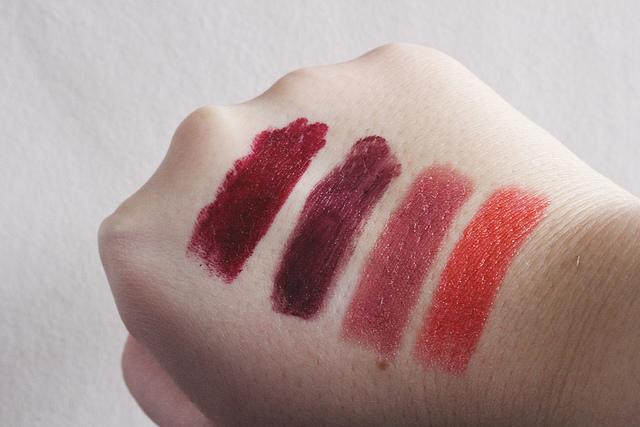 Beauty Edit: Vampy Lipsticks