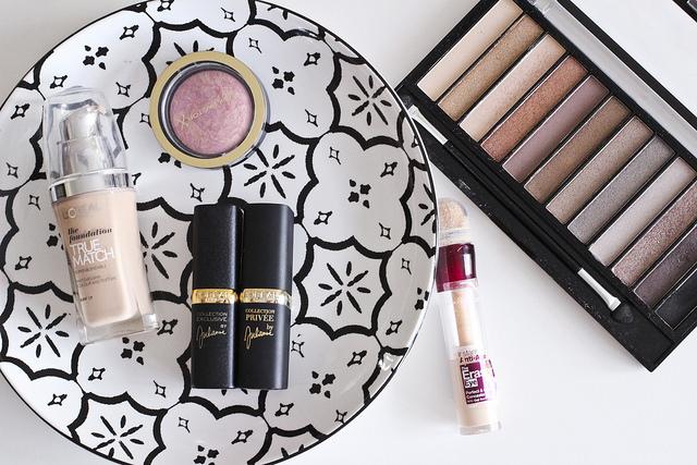 Top 5 Drugstore Makeup Items