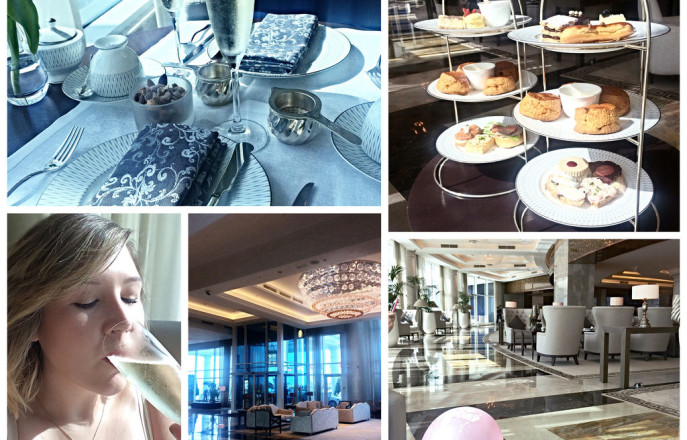 Afternoon Tea at the Waldorf Astoria Dubai