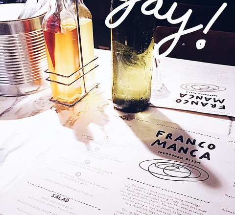 Pizza Times at Franco Manca